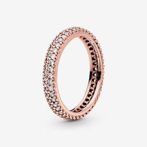😋Pandora  Elegant Pave Band Ring&nbsp